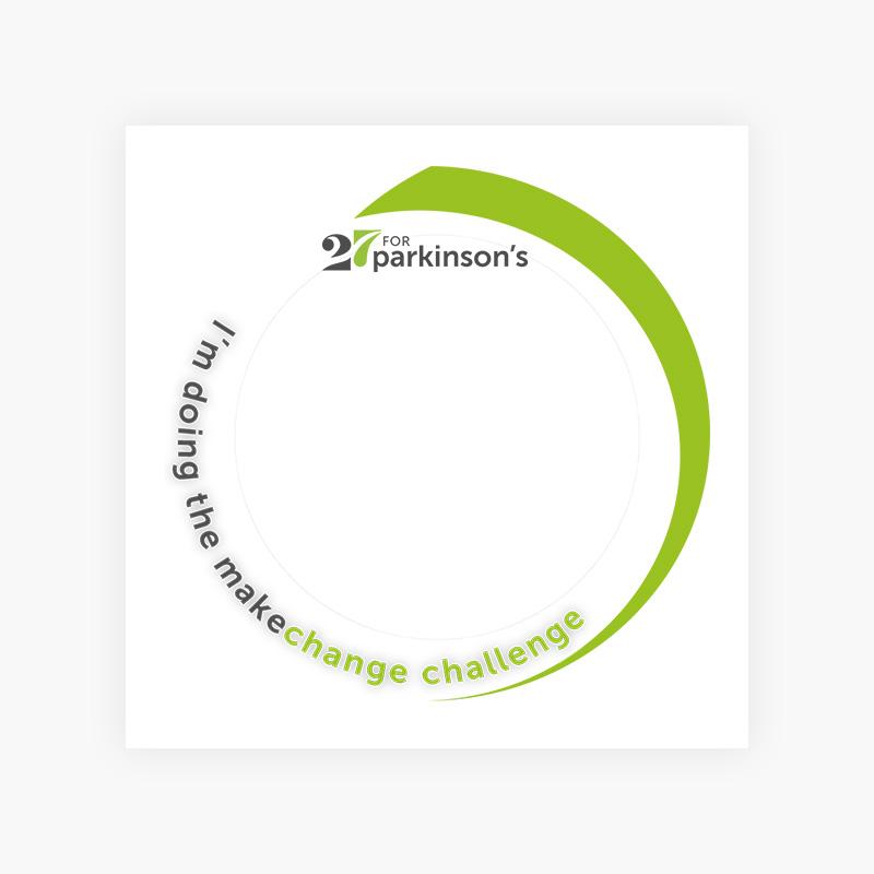 Make Change - Social Profile Frame 2